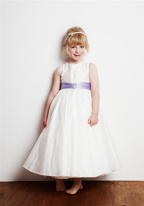 Вязаное платье для детей