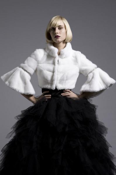 Шубки для невест Copenhagen Artificial Fur